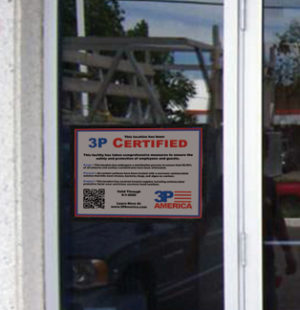 certificate-on-window